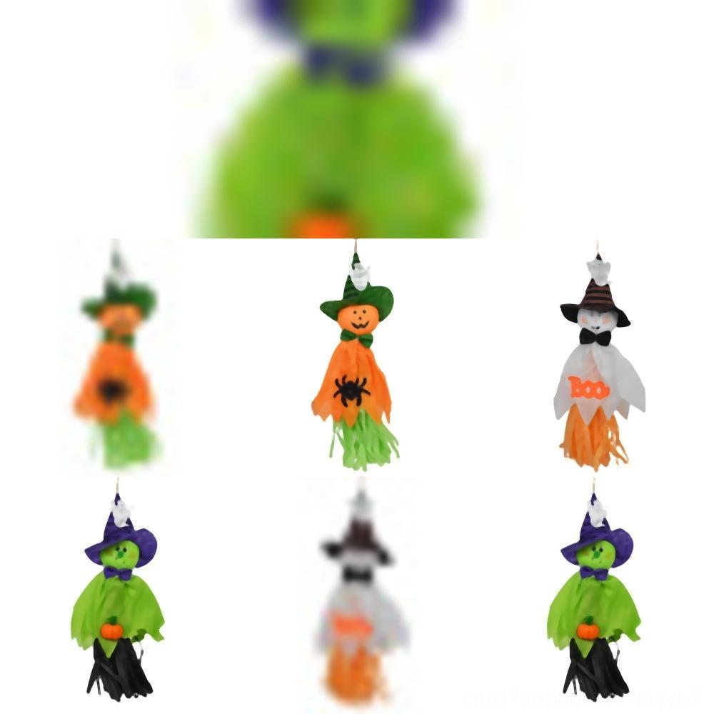 Evng1 тыкв Кошелек или сумка Реквизит Холст Candy шкентелей Bucket призраки тыквы Ведьма сумка мультфильм хранения Лечить Хэллоуин украшения
