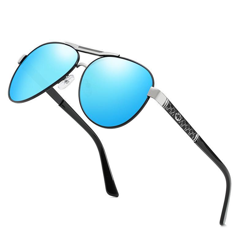 Sonnenbrille Pilot Polarisiert für Mann / Frauen Eyewear Fahren Männer / Frauen Sonnenbrillen Männliche / weibliche UV400 Schutzbrille