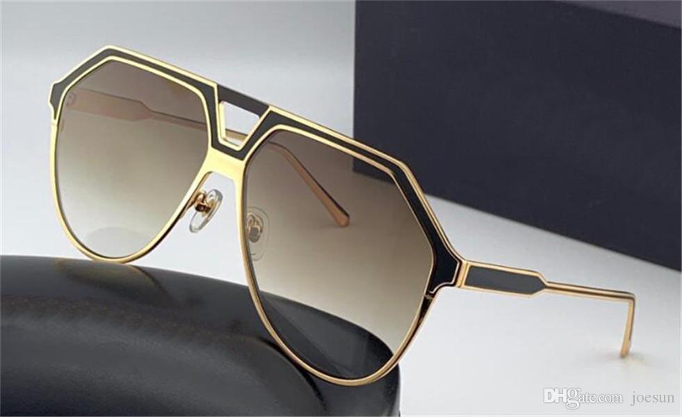 pilot 4388 metallo full frame forma classica progettazione dei nuovi uomini di modo occhiali da sole i colori mutevoli personalità e senza pretese