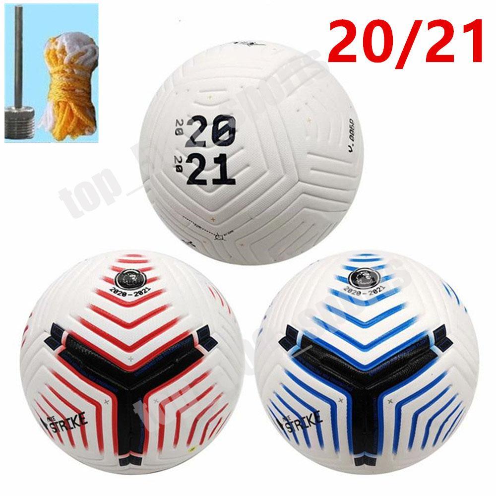 새로운 2,020에서 2,021 사이 PLG 축구 공 크기 5 공 고품질의 입자 미끄럼 방지 엠보싱 Fligh 최고 품질 무료 배달
