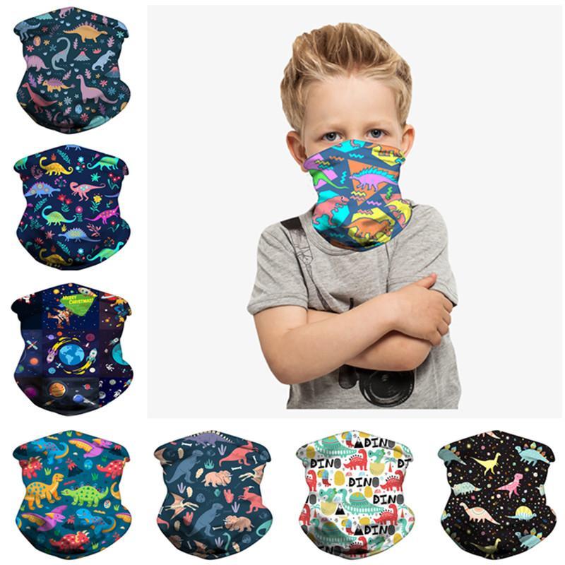Magic Kids sciarpe di modo di stampa sciarpa Bandane bambini Buff esterna di protezione del lato dello schermo antivento Maschera Ciclismo Copricapo Top