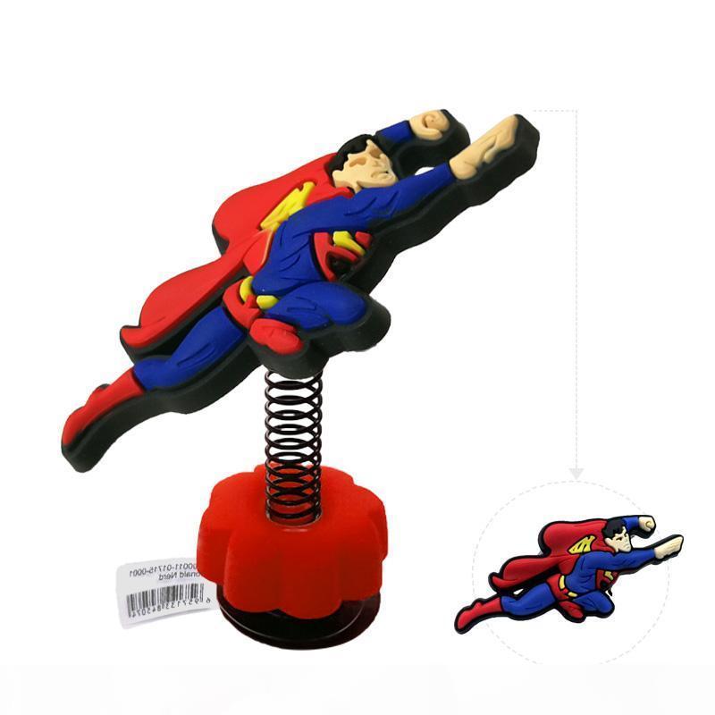 1pc Superman Batman alta qualidade pe Primavera encantos SAPATA Acessórios decorações para crianças Croc pulseiras de silicone