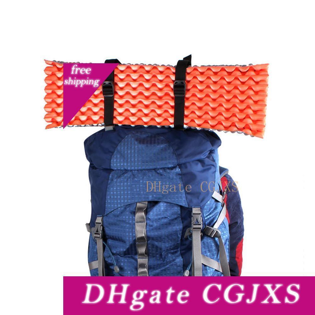 Outdoor-Camping-Rucksack-Hosenträgergurt Fracht Verpackung Seil Schlafsack Zelt Gürtel Gebunden Band-Reise-Gepäck-Koffer Zubehör