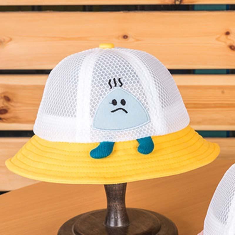 wh5Tq estate nuova sfera sveglia sole pescatore per bambini super cute dei bambini protezione solare bacino di riso netta Pescatore crema solare protezione solare h VbUPl