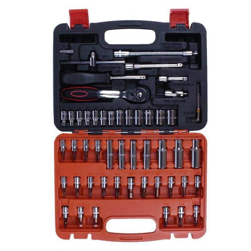 Meccanica Automotive Tool Set della cassa del motociclo casa Kit di riparazione 53 Pezzo
