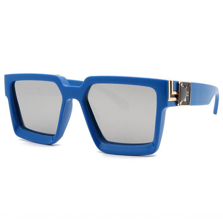 2020 novo estilo de óculos de sol Wu Yifan mesmo estilo L sol moda óculos óculos de sol de moda milionários dos homens