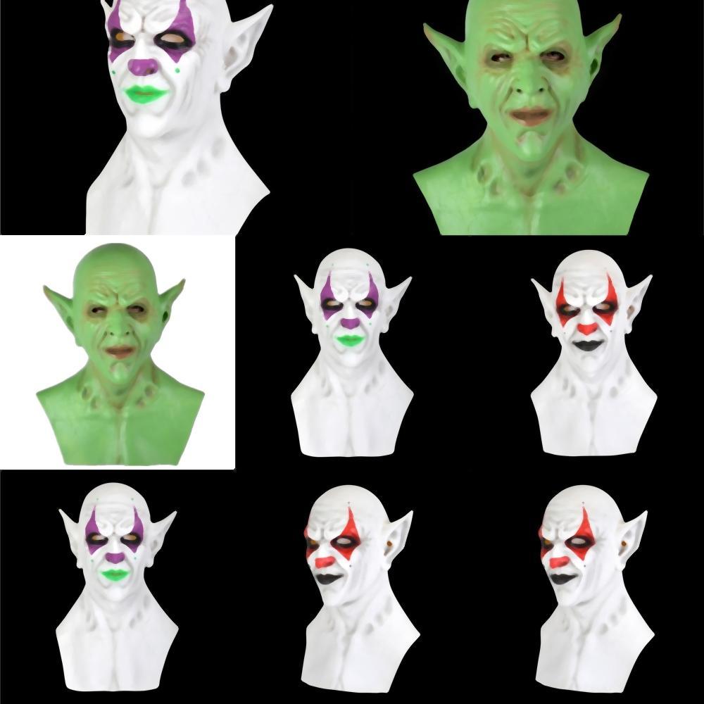 4ZyKF Magie Turban Bandanas Kürbis Emulsion Haube Gesichtsmasken Skeleton Clown Outdoor Sports imp Geist Stirnband Schal Hals Radfahren Gesichtsmaske