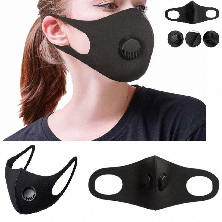 Vana Breath ile Unisex Sünger toz geçirmez PM2.5 Kirliliği Yüz Maskesi Geniş sapanlar Yeniden kullanılabilir Susturucu protetive Ağız HH9-3023 q3aa # Maske