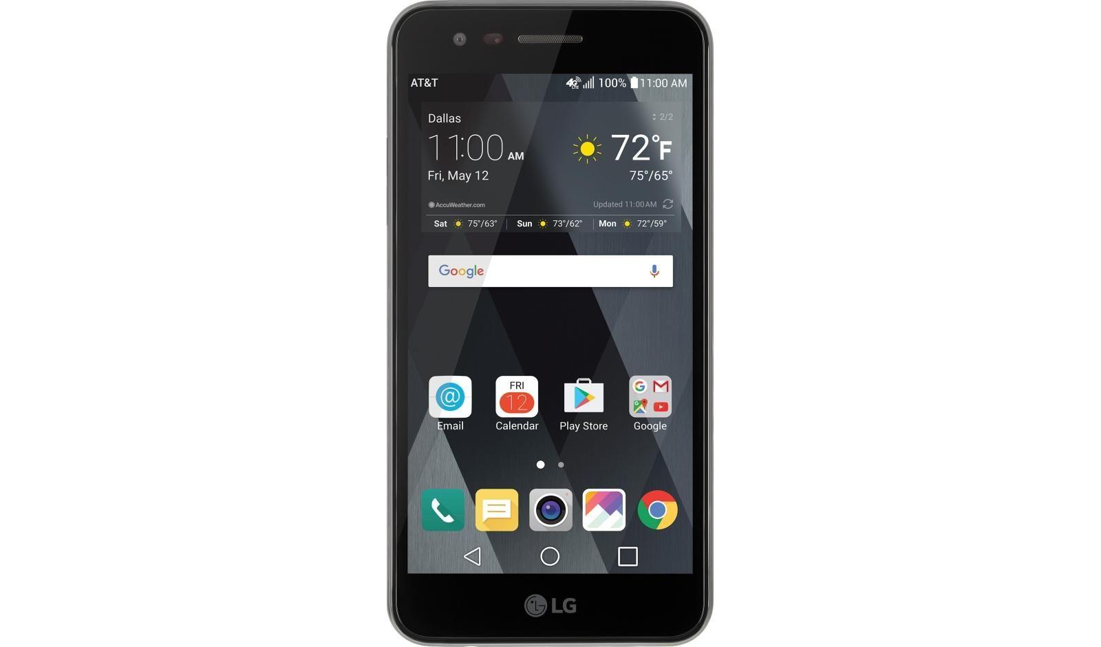 Remodelado Desbloqueado LG Phoenix 3 M150 5 polegadas 1.5GB RAM 16GB ROM 2500 MAH Android Smart Phone