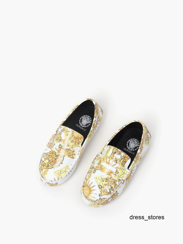 Casual chica nuevo patrón guardan los zapatos deportivos antideslizante muchachos de los niños Moda niños
