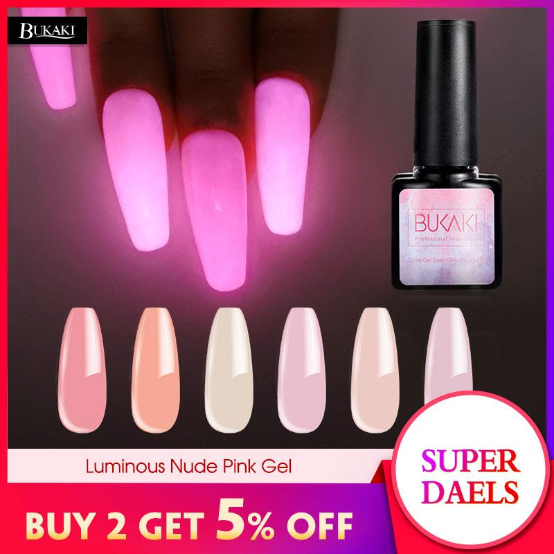 Bukaki Luminous Neon Nude Pink Nail Gel Polish Sugar Glitter Long Lasting Night Glow In Dark Lacquer Soak Off Uv Nails Design Nail Art Gel Beauty Nails From Huangcen 27 78 Dhgate Com מצא את המבצעים הטובים ביותר על כל מה שאתה צריך. bukaki luminous neon nude pink nail gel