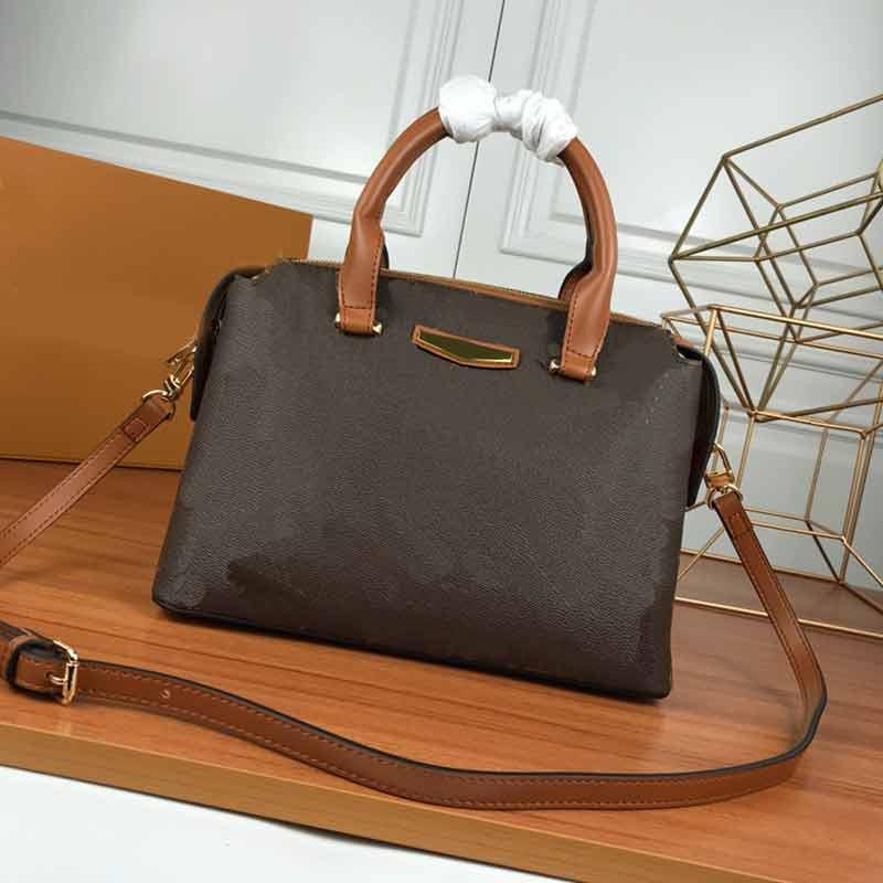 Кожаные женские сумки подлинной сумки мода сумки l цветок шаблон кошелек сумка мода сумка женская женщина настоящая кожа M43588 кошелек сумка Gism