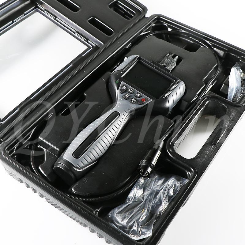 TFT LCD Camera tamanho Borescopes alta Qualidade Industrial Car endoscópio Lens 5,5 milímetros Dia de 2,7 polegadas com 6 LEDs Borescopes