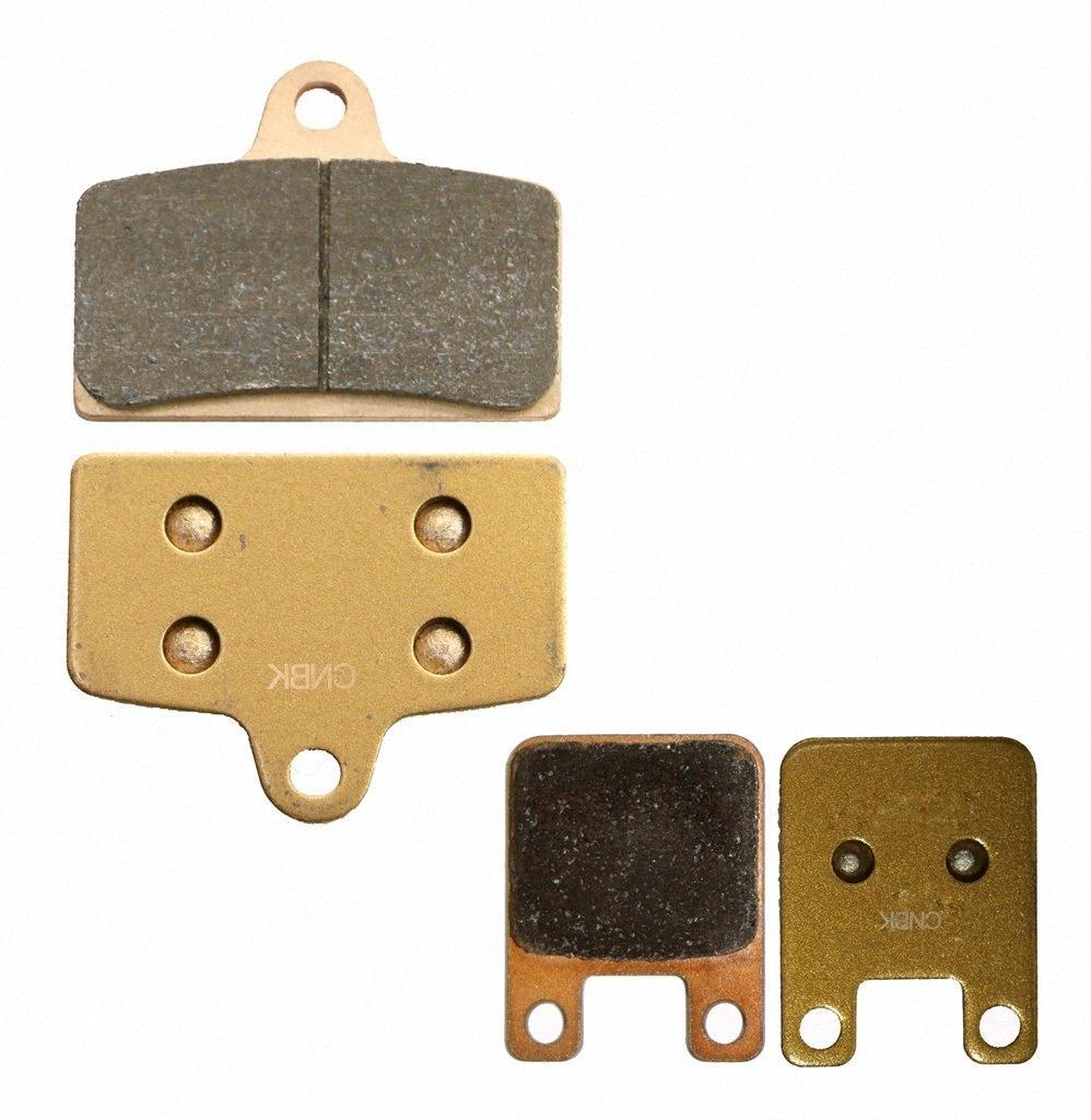 Disco de freio Pads definidos para DERBI GPR125 GPR 125 2005 2006 2007 2008 2009 2010 2011 2012 2013 2014 2015 / Nude 2005-2008 m5cP #