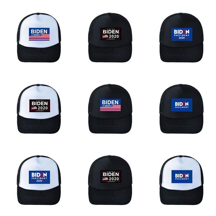 Joe Biden Beyzbol Şapka Amerikan Seçim Ayarlanabilir Net Beyzbol Şapka Açık güneş Başkanı 2020 Parti Şapkası T2C5237 8style