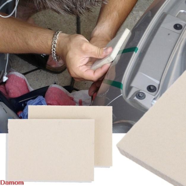 الصوف الممسحة المهنية السيارات فيلم تغليف تركيب ممسحة النافذة مكشطة