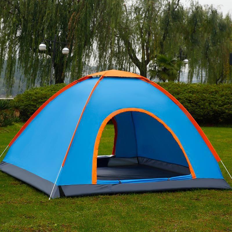 Carpas y refugios automáticos para caminar Camping Tienda 1 2 3 4 Persona Modelos múltiples Familia al aire libre Fácil Campamento abierto Ultralight Sombra instantánea