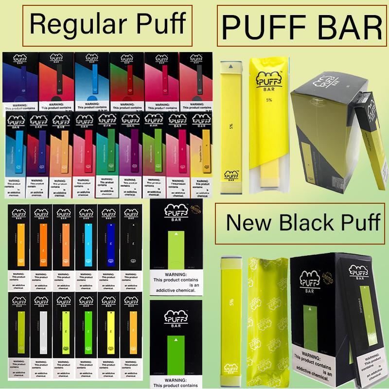 18 colores soplo Bar desechables Pods Device 1,3 ml 280mAh Vaporizadores aceite espeso PuffbarsCartridges kits de iniciación precargadas vacíos cigarrillos E