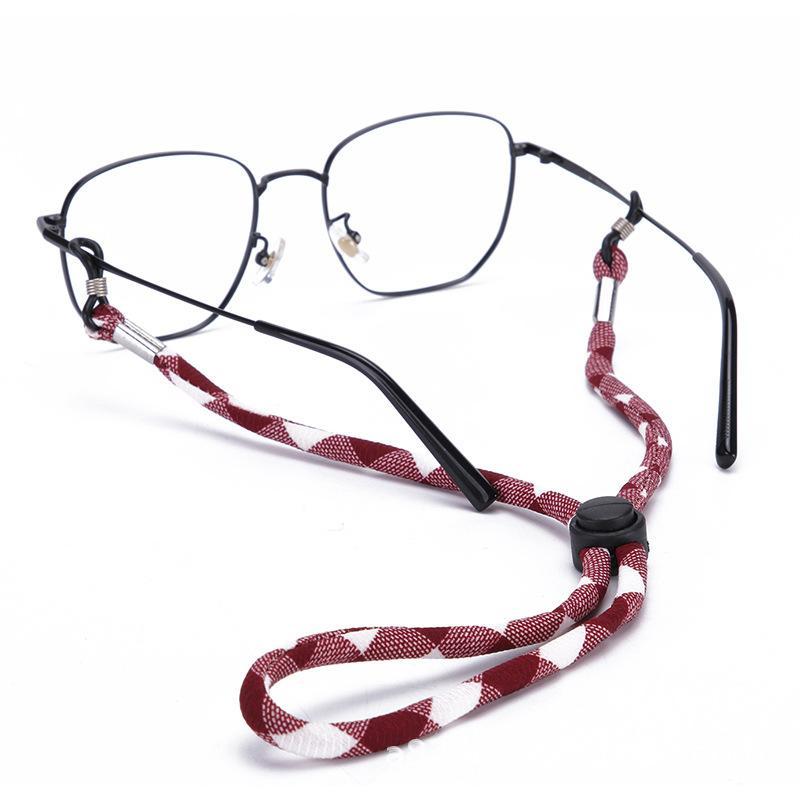 Gözlükler Dize Tutucu Kayış Kordon - Erkekler Kadınlar İçin Gözlük Zinciri - Gözlük İpi Tutucular Spor Göz Cam sapanlar Sunglass