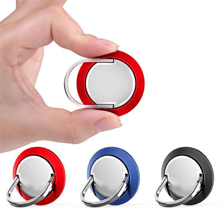 Cgjxs Universal Ring Finger Phone Holder 360 Rotação Magnet Dedo Punho de telefone estar Anel Stent Para Car Usando Para Iphone X Samsung
