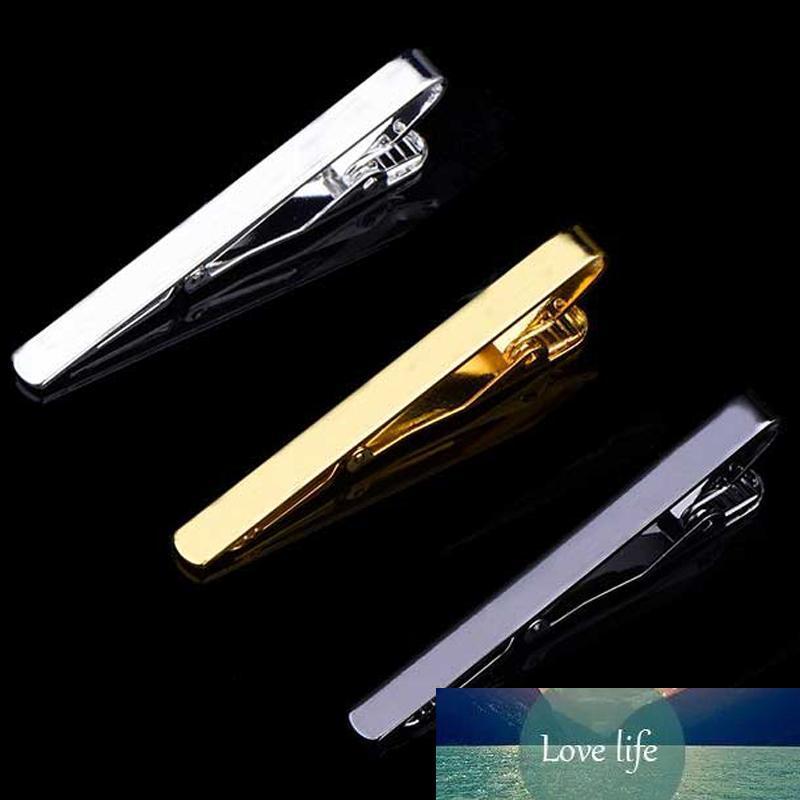 남성 금속 실버 골드 톤 간단한 바 걸쇠 실용 넥타이 걸쇠를 들어 100 개 패션 스타일 타이 클립