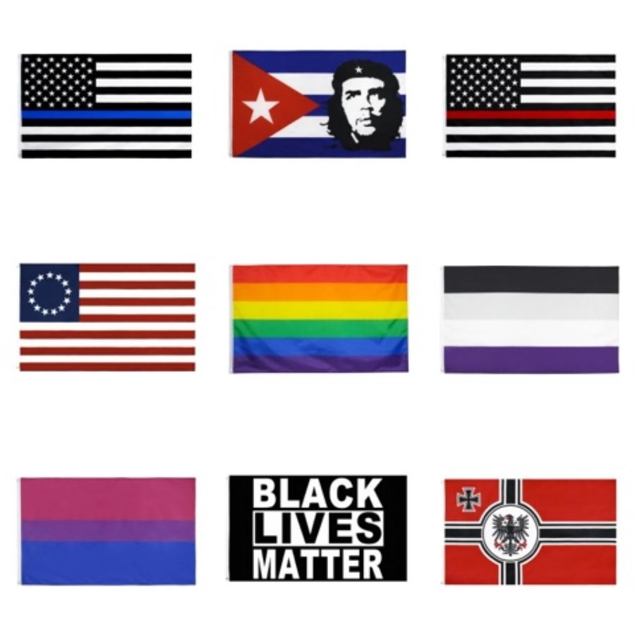 Freier DHL Trump 2020 Banner Wahl Flagge 90 * 150CM Klassische Trump Donald Keep America großer USA-Banner Home Garten Flaggen-Partei-Dekor M527F # 140