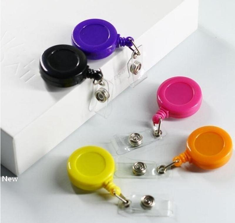 Держите телефон кольцо с талрепом Id Клипа держатель Badge Катушка сотовых Катушками карт Выдвижного ключ брелок sqcLh home003