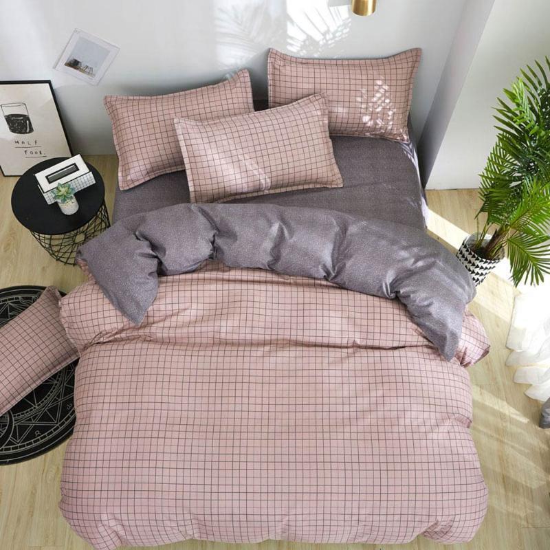 Drucken-Bettwäsche-Satz Bettwäsche Svetanya (Pillowcase Blatt Bettbezug) Einzel Double Queen King Size
