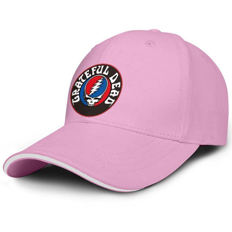Unisex İşte Karşınızda Moda Beyzbol Sandwich Şapka Tasarımı Eşsiz Kamyon sürücüsü Cap Amerikan rock grubu Dead Minnettar-yalnız-Ölü-Style-çalmak