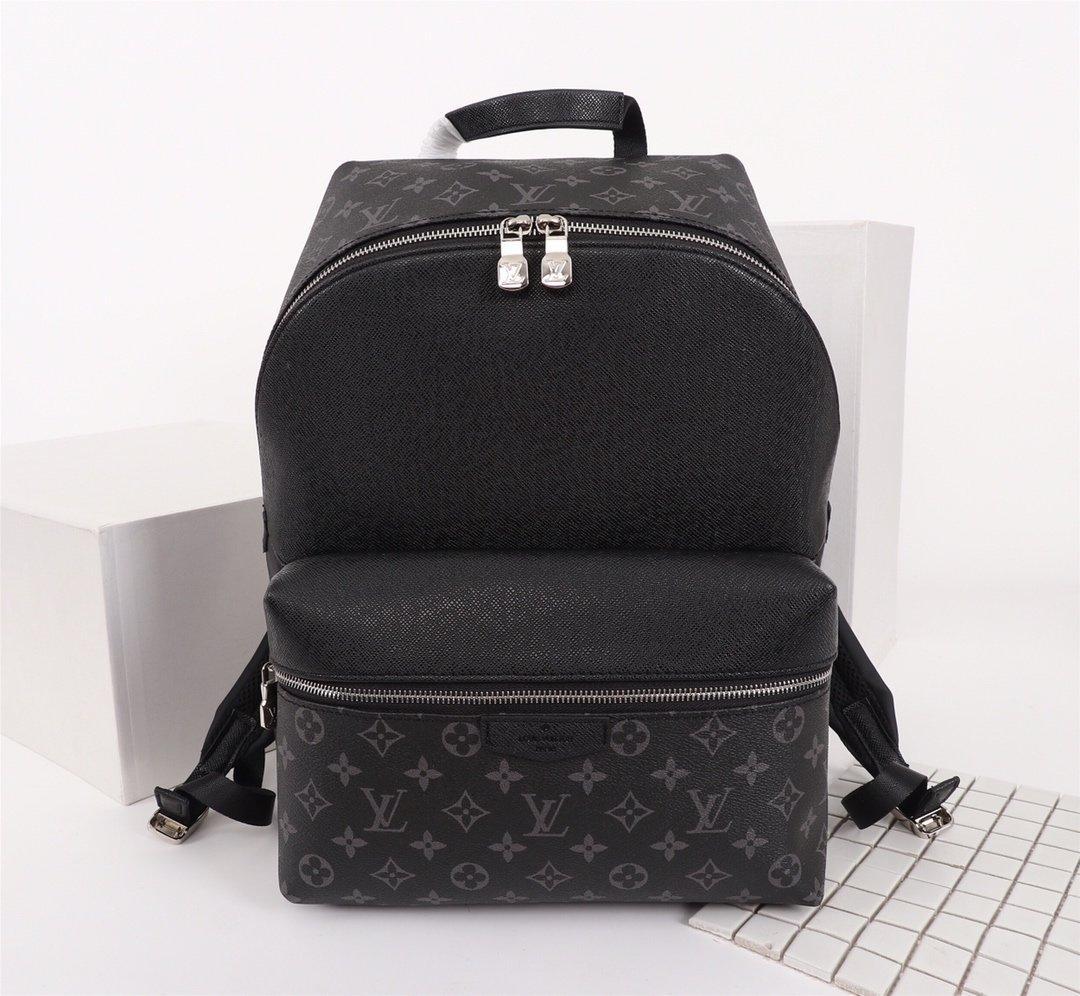 Classic campus trend design Backpacks for men real leather pvc luxury trendy design handbag backpack for Men notebook Multicolor 37x40x20cm