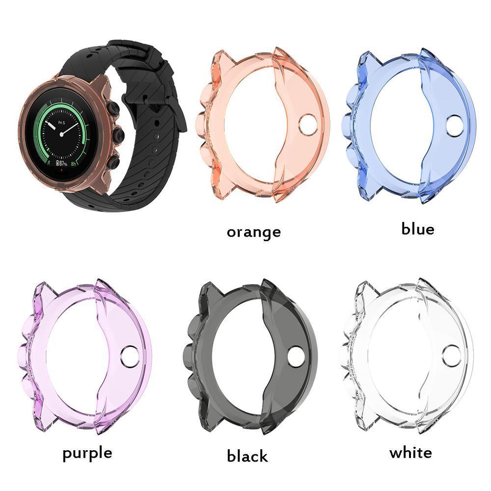 Klare TPU-Schutzsysteme Uhr-Kasten-Abdeckung für Suunto 9 Spartan Sport Handgelenk Hr Baro Smart Watch-Schutz-Shell