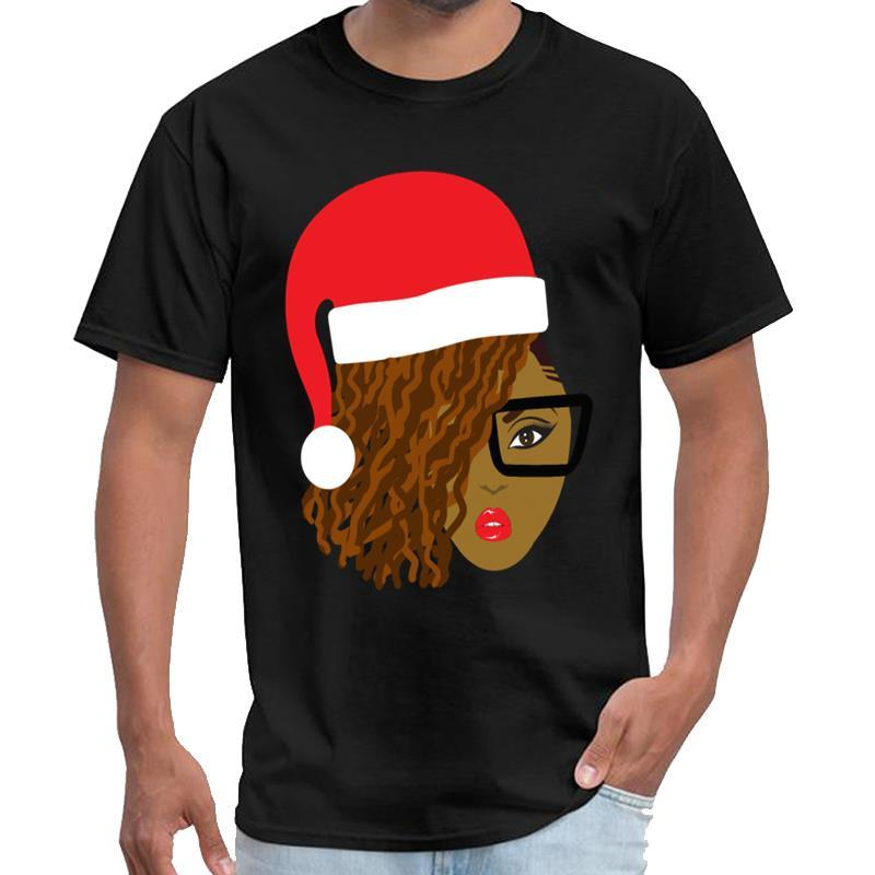 Divertido Locs Natural de Santa pelo del niño mandaloriana camiseta mujer hombre camiseta 3XL 4XL 5XL camiseta tapas