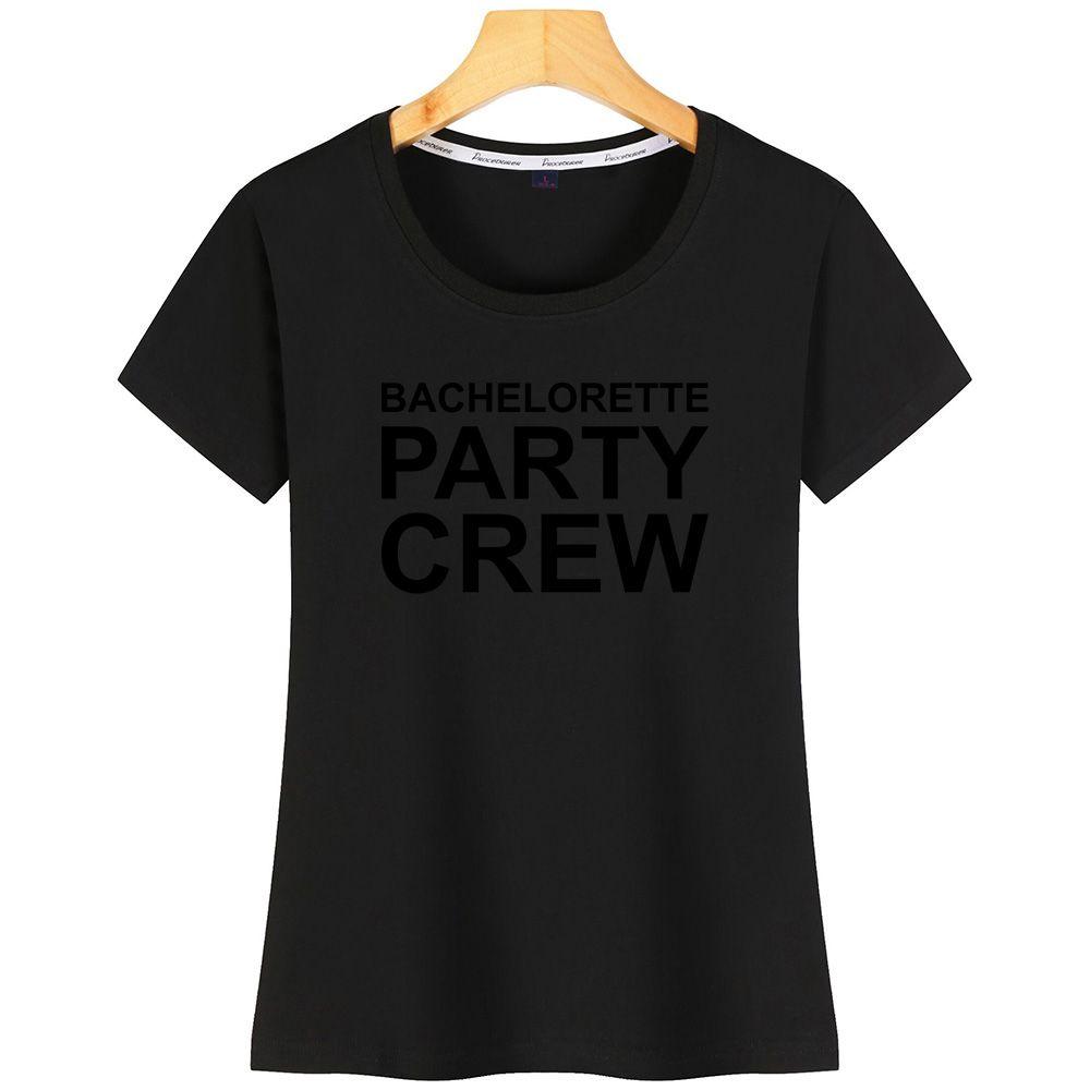 Bachelorette Party Crew T ShirtGraphic Cotton Design Edilizia