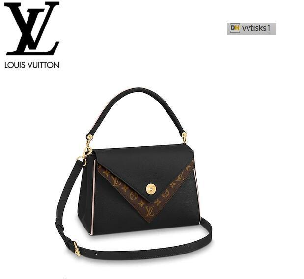 vvtisks1 Y3HB M54439 Double Noir Women HANDBAGS ICONIC BAGS TOP HANDLES SHOULDER BAGS TOTES CROSS BODY BAG CLUTCHES EVENING