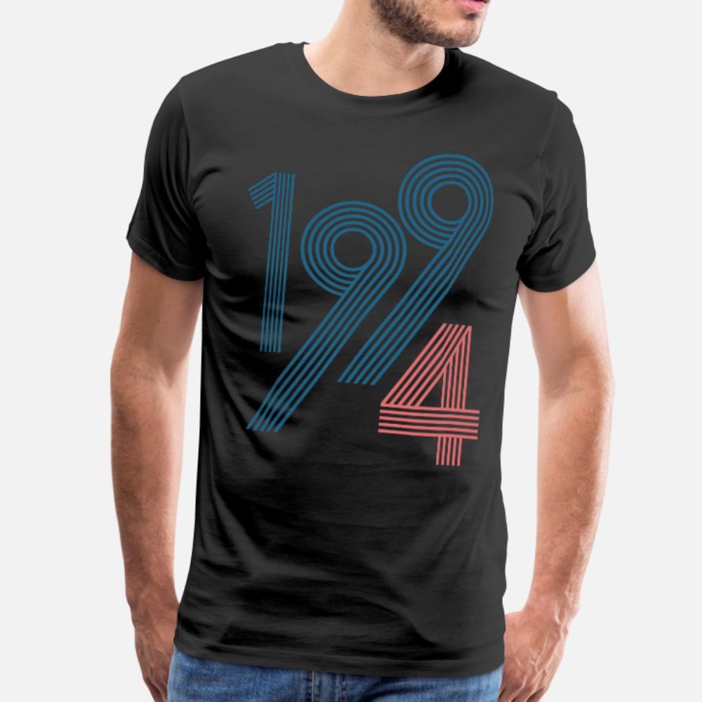 1994 тенниска мужчину Индивидуального хлопок S-3XL Стандартных Интересные Новой моды лето Стиль прохладно рубашки