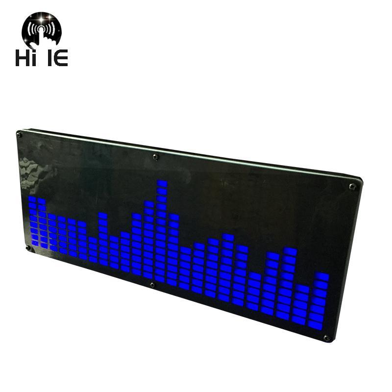 كبير 24 قطعة LED الموسيقى الطيف الالكترونية الإنتاج الطيف مستوى العرض VFD الصوت VU متر مستوى مجلس