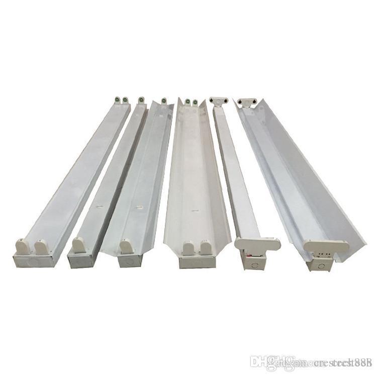 Led Armatür 1200mm t8 T8 Tüpler LED Lamba Tutucu Ekipmanları 2 Işık G13 Bankası Tüp Ampul, T8 tüp Armatür / Destek / kulağı / Stent