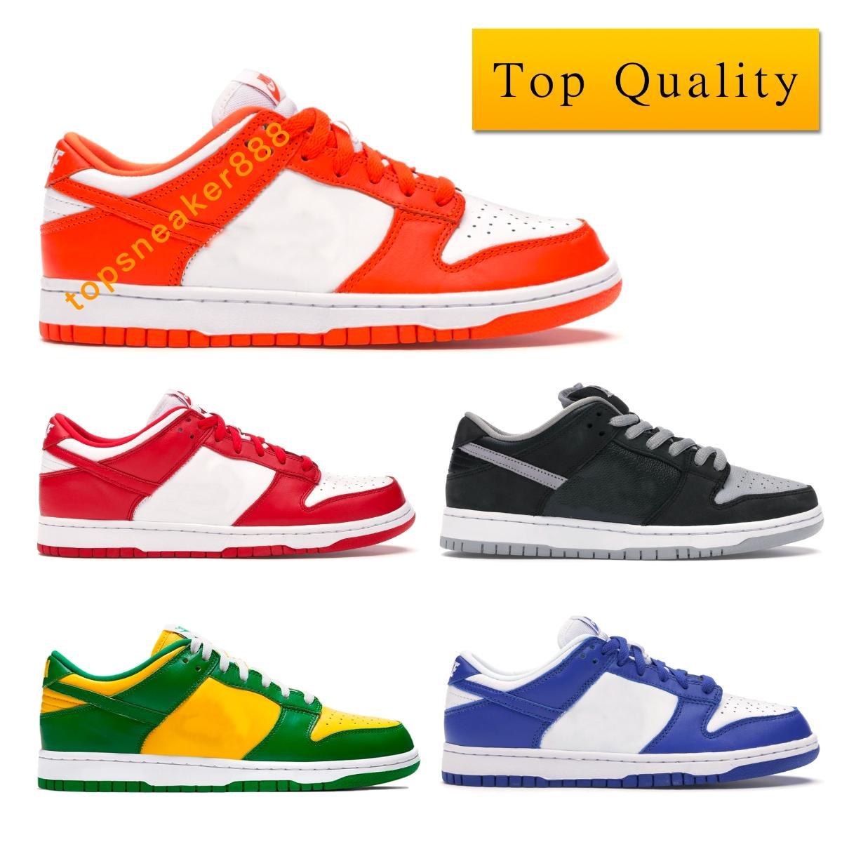 أدنى رجل أحذية الظل كنتاكي الأحمر سيراكيوز أزرق أبيض رمادي أخضر أصفر مع صندوق يورو 36-45 الولايات المتحدة 5،5 ح Dunk Low SP Syracuse Kentucky Sneakers Shoes