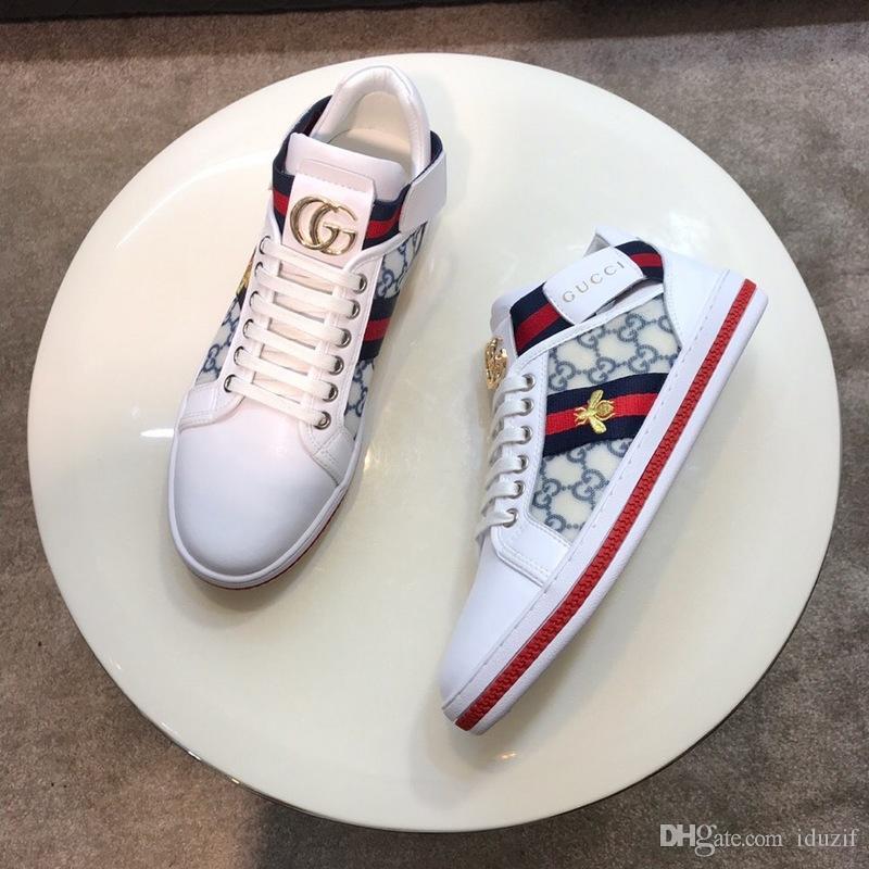 Ucuz İtalya Lüks Deri Ayakkabı Kadın Erkek Tasarımcı Sneakers Ayakkabı Moda Deri Lace Up Run Away Ayakkabı Karışık Renkli With Kutu