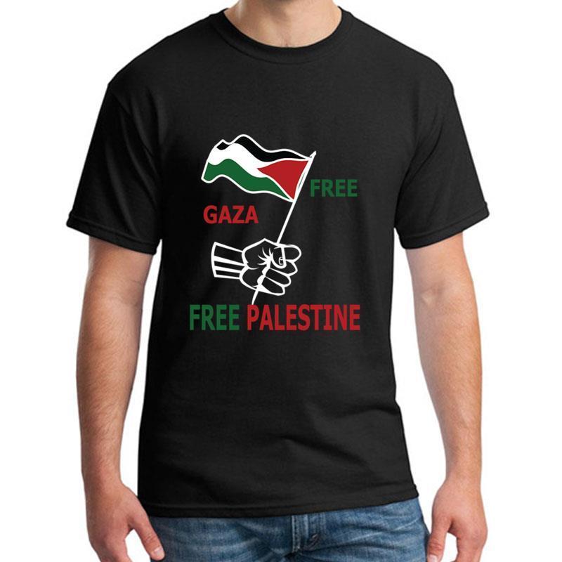 Mode Free Gaza Palestine libre t-shirt fille garçon manches courtes Comical été vêtements pour femmes hauts T