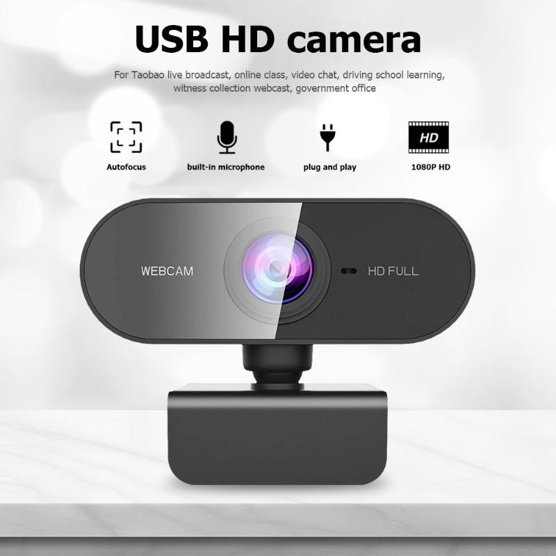 1080P Full HD USB веб-камера с микрофоном для видео конференции Live Streaming Digital USB Video Recorder Home Office