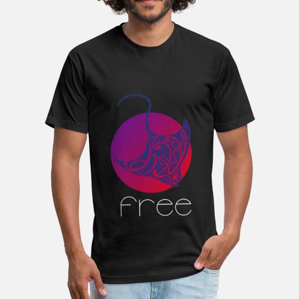 coloré cadeau design mantaroque t shirt homme shirt de caractère S-XXXL unisexe en vrac mode Printemps Automne chemise standard