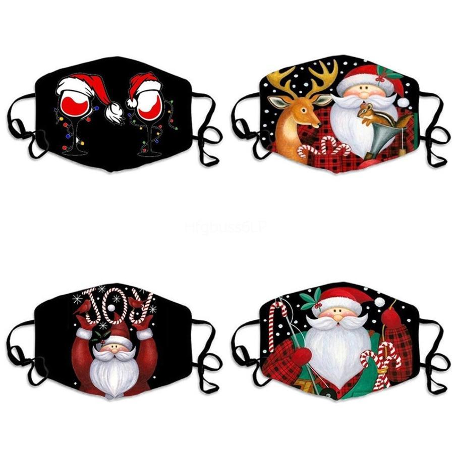 Drôle demi-masque facial Femmes Hommes Masque imprimés Costumes Masques pour Funny Half Off Discount Bonne # 206