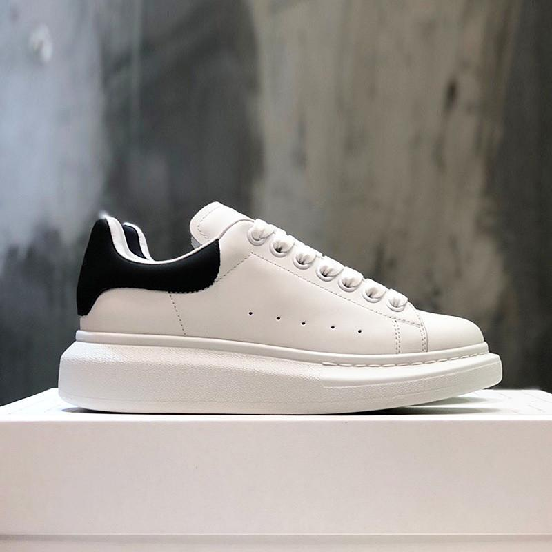 2021 Bunte Mens-beiläufige Schuh-Plattform Art und Weise Frauen Maxi-Turnschuhe Leder Chaussures Vintage-Trainer Schuhe Espadrilles Glitter