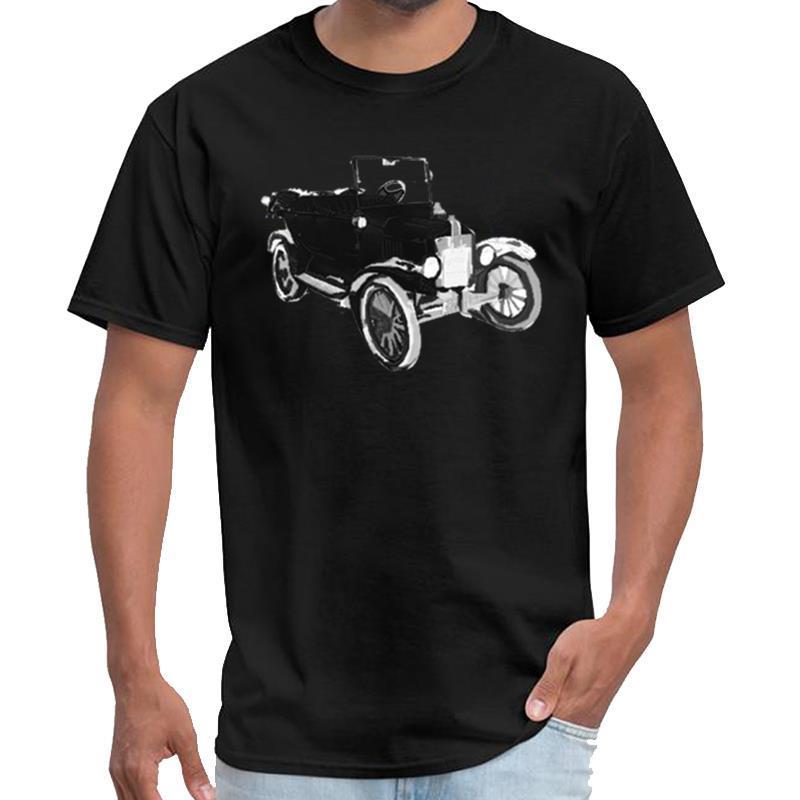 Grafik Ford Modell T-shirt homme de marque männlich weiblich vetement homme T-Shirt große Größe s ~ 5xL natürlichen