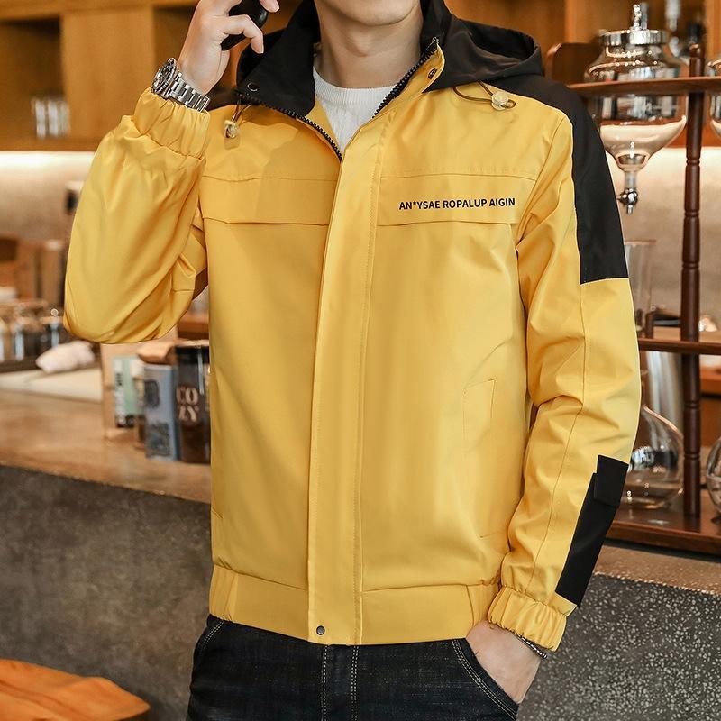 2020 yeni erkek ceket sonbahar Kore tarzı gündelik moda beyzbol üniforma büyük boy ceket erkek giyim Beyzbol üniforma genel overalls