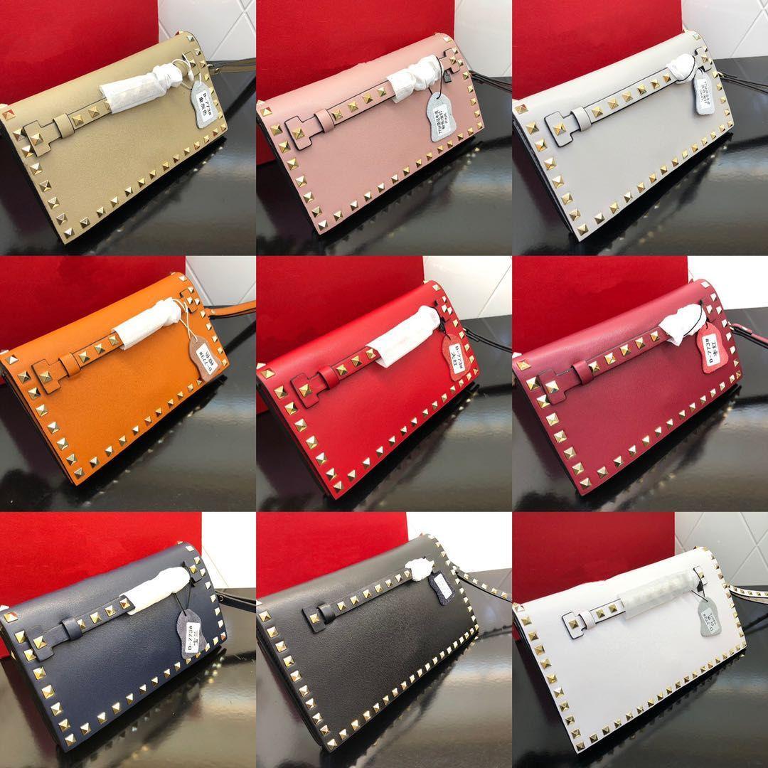 2020 nouveau sac d'embrayage multicolore Fashion Lady portefeuille sac à bandoulière sac à bandoulière sac à main sacs à main classique avec boîte 666