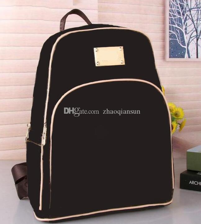 Горячая роскошный рюкзак мужской бренд бренд кожаные сумки двойные плечевые школы мужские рюкзаки дизайнеры PU сумки горячая сумка на плечо LWKDW
