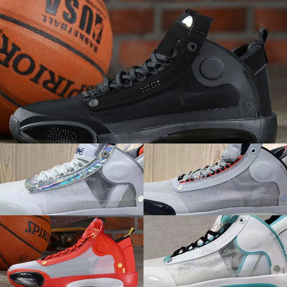 Nouveau bleu Chaussures Jumpman orange 34 hommes XXXIV Vert SE Basketball Bayou pour les garçons profond aj 34s Sport D 6SZ6