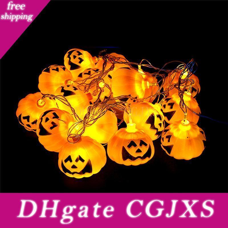 3m Halloween citrouille Eyeball type LED Guirlandes Hallowmas Glowing Tentures Horrible chaîne d'éclairage pour la décoration d'Halloween